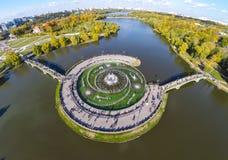 Tsaritsyno Park Stock Photo
