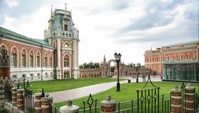 Tsaritsyno parkerar i Moskva Arkivfoton