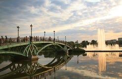 Tsaritsyno parkerar i Moskva Royaltyfria Bilder