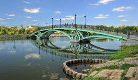 Tsaritsyno, Pedestrian bridge Royalty Free Stock Photos