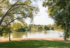 Tsaritsyno ponds. Tsaritsyno State Museum. Moscow Stock Images