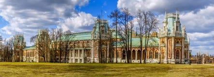 Tsaritsyno slott Arkivbild