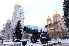 Tsarkanon, störst kanon vid kaliber, arkivbilder