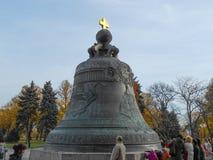 TsarKlocka Moskva Royaltyfri Fotografi