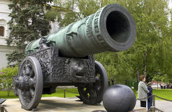 Tsars Cannon - Kremlin - Russia Stock Photos