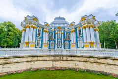 Tsarskoe的Selo偏僻寺院亭子 库存照片