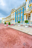 Tsarskoe的Selo凯瑟琳宫殿 图库摄影