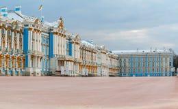 tsarskoe för st för catherine slottpetersburg russia selo Fotografering för Bildbyråer
