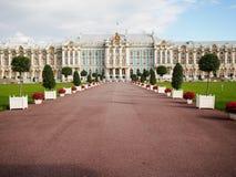 Tsarskoe Selo凯瑟琳宫殿普希金俄罗斯 图库摄影