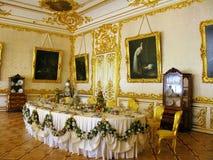 Tsarskoe Selo Catherine Palace interior Royalty Free Stock Images