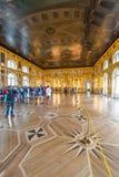 Tsarskoe Selo Interiors Stock Photos
