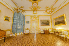 Tsarskoe Selo Interiors Stock Photo