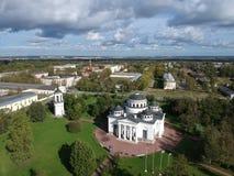 Tsarskoe Selo Sophia Kathedrale lizenzfreie stockfotos
