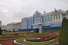 tsarskoe st selo petersburg России дворца Кэтрины Стоковое фото RF