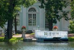 Tsarskoye Selo (普希金),圣彼德堡,俄罗斯 轮渡服务 免版税库存图片