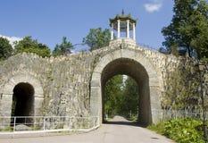 Tsarskoye selo, Dragon bridge royalty free stock image