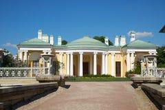 Tsarskoye Selo ist ein ehemaliger russischer Wohnsitz der Kaiserfamilie und des Besuchsadels 24 Kilometer Süd von der Mitte von S Lizenzfreie Stockfotos