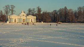 Tsarskoye Selo (Pushkin) Royalty Free Stock Photos