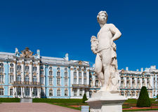 Tsarskoye Selo (Pushkin), Saint-Petersburg, Russia. Catherine Palace Royalty Free Stock Photos