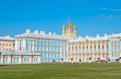 Tsarskoye Selo (Pushkin). Saint-Petersburg, Russia. The Catherine Palace Stock Photography
