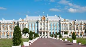 Tsarskoye Selo (Pushkin). Saint-Petersburg, Russia. The Catherine Palace Royalty Free Stock Photos