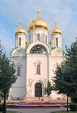 Tsarskoye Selo (Pushkin). Saint-Petersburg. Russia. Church of St. Catherine martyr Stock Images