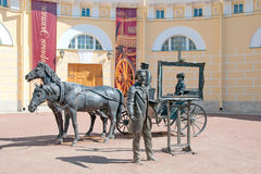 Tsarskoye Selo (Pushkin), St Petersburg, Rússia E Fotos de Stock
