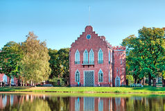 Tsarskoye Selo (Pushkin) St Petersburg Russie Le pavillon d'Amirauté Images stock