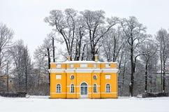 Tsarskoye Selo (Pushkin), St Petersburg, Russland Der obere Schläger Stockbild
