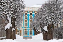 Tsarskoye Selo (Pushkin), St Petersburg, Ryssland catherine slott Arkivbild