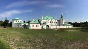TSARSKOYE SELO, ST PETERSBURG, RUSSLAND - 10. AUGUST 2014: Die Kriegskammer Museum des Ersten Weltkrieges in Tsarskoye SeloPushki Lizenzfreie Stockfotografie