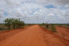 Tsavo Parc nacional del este Foto de archivo libre de regalías