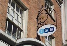 TSB-Bank het brandmerken, Hoofdstraat, Lincoln, Lincolnshire, het UK - vijfde stock foto