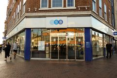 TSB Store Front. Reading, United Kingdom - June 22 2018: The store frontage of TSB Bank in Broad St stock photography