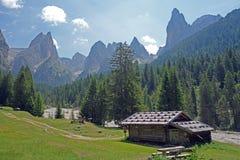 Tschaminalm, Suedtirol, Italien Stock Photography