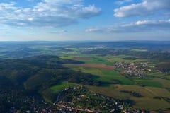 Tscheche von der Luft Stockfotografie