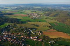 Tscheche von der Luft Lizenzfreie Stockbilder