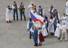 Tschechische Folklore Stockfoto