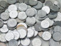Tschechische Korunas Münzen Lizenzfreies Stockfoto