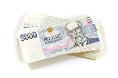 Tschechische Krone Lizenzfreie Stockfotos