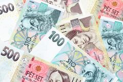Tschechische Kronen Lizenzfreie Stockfotografie