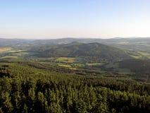 Tschechische Landschaft Lizenzfreies Stockbild