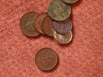 Tschechische Münzen Stockbild