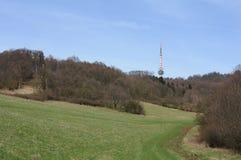Tschechische mittlere Berge - Bukova-hora Stockbilder