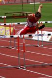 Tschechische nationale Meisterschaft in der Athletik Lizenzfreie Stockfotos