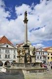 Tschechische Republik, Cesky Krumlov Lizenzfreie Stockfotos