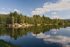 Tschechische Republik - Jablonec nad Nisou und Umgebungen lizenzfreie stockfotos