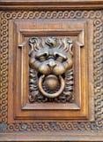 Tschechische Republik, Prag: alte Tür Stockfotos
