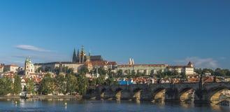 Tschechische Republik prag Charles Bridge Stockfotografie