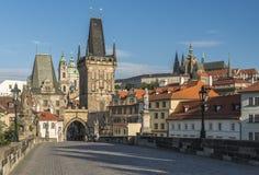 Tschechische Republik prag Charles Bridge Stockfoto